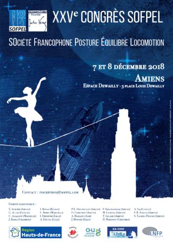 XXVème Congrès de la SOFPEL 2018 – Amiens